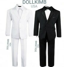Baby Boy Kids Suit Tuxedo formal Toddler, traje para niÑo S-20