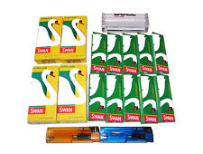 BULL BRAND CIGARETTE ROLLING MACHINE, 10 PAPERS,  4 SWAN FILTERS, 2 LIGHTERS