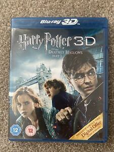 Blu-ray 3D Harry Potter And The Deathly Hallows Part 1 Brand New But Not Sealed