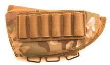 Acme Approved Shotgun Buttstock Cheek Rest Ammo Pouch - Multicam