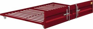Cargo Trundle (Twin), Red