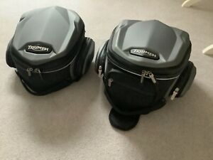 Triumph Street Triple Luggage bags- Tank and tail bags