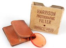 HARRISON 30MM C4 ORANGE FILTER IN CASE   ORIG. BOX