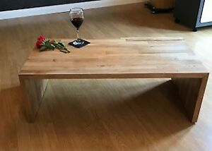 contemporary solid oak Coffee Table, made by craftsman