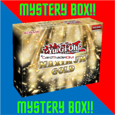 Yu-Gi-Oh! Maximum Gold MYSTERY BOX - MAGO Boosters, Structure Deck, Sleeves, etc