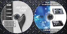 3.056 Patches ROLAND GR-55 VG-99 Multi Effects Processor.& 48.328 Guitar Tablatu