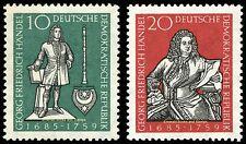 EBS East Germany DDR 1959 George Frederick Handel Michel 682-683 MNH**