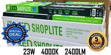 2 Pack 4Ft 23W 4000k LED GARAGE WORK SHOP BENCH LIGHT FIXTURE LAUNDRY UTILITY 4'