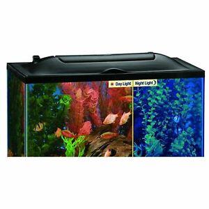 Marineland LED Light Hood for Aquariums, Day & Night Light 20- by 10-Inch