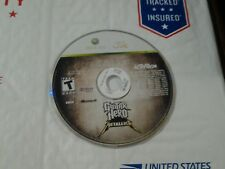Guitar Hero: Metallica (Microsoft Xbox 360, 2009) Disc Only Tested Fast Shipping