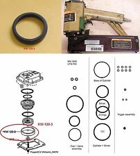 Duo-Fast KN-1848 LFN-764 Poppet Seal KW-120-3 + Complete O-ring Rebuild Kit