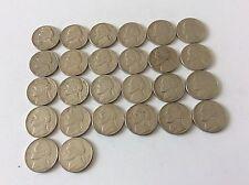 Lot de 26 pièces USA five Cent. de 1969 à 2000 TTB