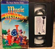 Music Machine Vhs Video Low combined shipping rare