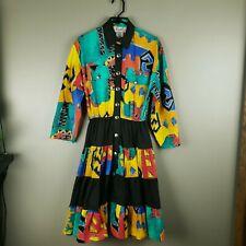 D. Frank Vintage Western Southwest Dress Cotton Size 6