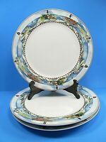 "3 American Atelier Signals 5100 Lighthouses Dinner Plates 10 5/8"" Bundle of 3"