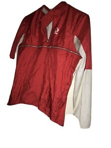 Pearl Izumi Cycling Gear LS Red Biking Jacket Jersey Japan Made Medium