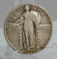 1927-S Standing Liberty Silver Quarter Dollar 25 Cents 25C Nice Coin C2107