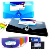 13 Pocket Expand Document File Accordion Organizer School Coupon Holder Folder