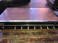 Vintage Sharp Solid State Stereo Hi Fi Amp Amplifier Model STA-11