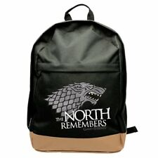 """Game of Thrones  """"House of Stark The North Remembers"""" Backpack - NEW"""