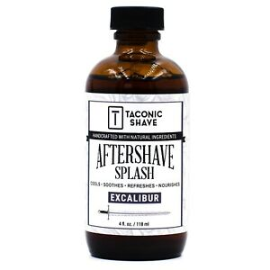 Taconic Shave Excalibur Aftershave Splash Tonic - Cools, Soothes & Hydrates