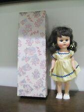 1950's Vintage Hard Plastic Doll Pma Plastic Molded Arts 8.5� with box