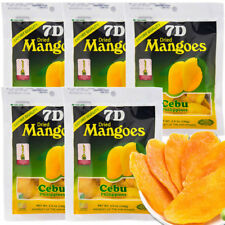 5Packs*100g Philippines Profood Cebu Dried Mangoes mango strips Fruit Food