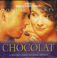 JOANNE HARRIS: CHOCOLAT - PROMO AUDIOBOOK CD / SAMANTHA BOND, GARETH ARMSTRONG