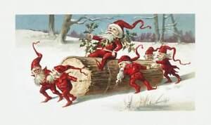 Rice Paper for Decoupage Scrapbook Craft Christmas Santa 1100