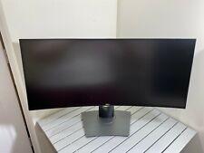 "Dell UltraSharp U3419W Curved USB-C 34"" LED 3440x1440 Monitor - MINT CONDITION!"