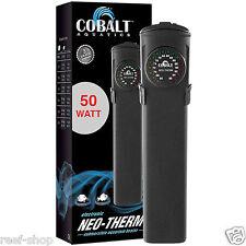 Aquarium Heater Cobalt Neo Therm 50 Watt LED Display FREE USA SHIP