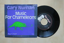 "GARY NUMAN Music For Chameleons German 7"" in picture sleeve Beggars Banquet 1982"