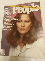 VINTAGE People Magazine March 28 1977 FAYE DUNAWAY ROMAN POLANSKI Vintage Ads