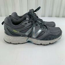 New Balance Womens 510 V3 WT510LG3 Gray Blue Running Shoes Lace Up Size 8.5 B