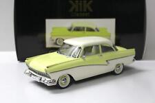 1:18 KK-Scale Ford Taunus 17M P2 1957 yellow/ white