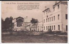 SAN POLO DI PIAVE TREVISO PRO PAESI DEVASTATI CHIESA DISTRUTTA 1919 BELLA !