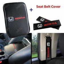 For New Honda Racing Car Center Console Armrest Cushion Mat Pad Cover Combo Set (Fits: Honda)