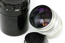 New SILVER JUPITER-9 2/85 mm Soviet Carl Zeiss Sonnar lens M39 L39 Leica JP003