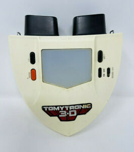 Tomy Tomytronic 3D Thundering Turbo Racing Game Handheld Hand Held Vintage