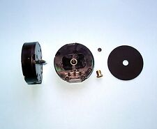 UTS GERMAN round QUARTZ carraige CLOCK MOVEMENT - 10mm shaft length