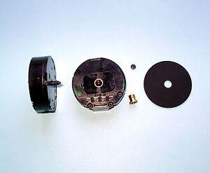 UTS GERMAN round QUARTZ carraige CLOCK MOVEMENT - 10mm shaft length