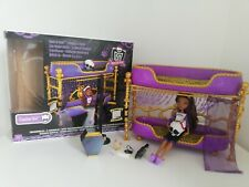 Monster High Dead Tired Clawdeen Wolf Bunk Bed Set Room To Howl