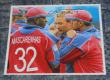 CHRIS SCHOFIELD- CRICKETER    -10x8  PHOTO  SIGNED.