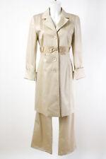 DONNA by Hallhuber Hosenanzug Gr. M / 38 Kombination Mantel Hose Baumwolle Suit