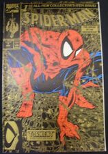 SPIDER-MAN 1 MARVEL COMIC GOLD TORMENT TODD MCFARLANE RICK PARKER 1990 NM