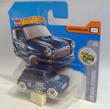 HotWheels Morris Mini HW Snow Stormers 2/5 Electric Blue