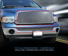 Billet Grille Grill Combo  For Dodge Ram Full Openning 2002-2005