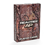 Bicycle RealTree deck of Playing card Army Military camo design green real tree