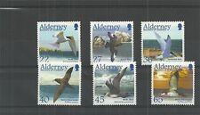 ALDERNEY-A210-215-MIGRATING BIRDS-2ND SER SEABIRD-MNH