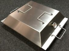 395 LR x 485 FB Topnotch Stainless Steel BBQ Baking Dish Complete with Lid